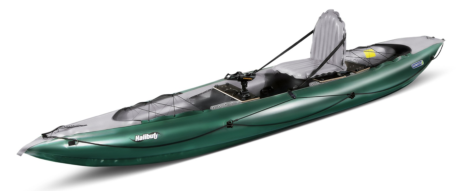 kayak gonflable de peche gumotex halibut