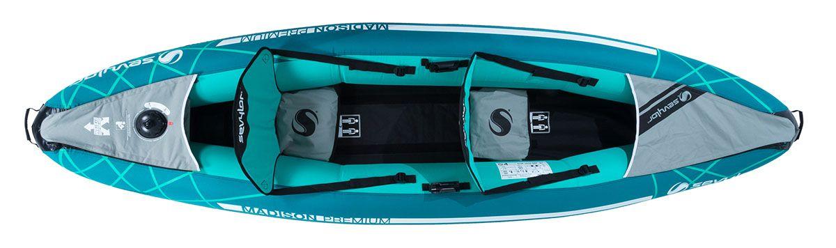 Sevylor Madison test et avis d'un tres bon kayak 2 places
