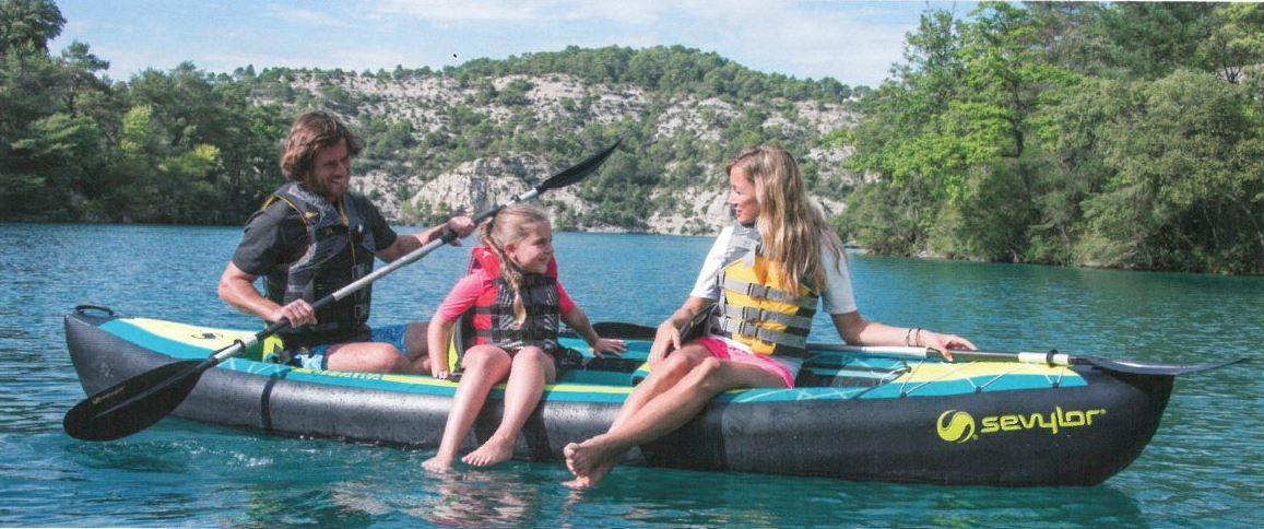 Sevylor Ottawa bateau 3 places pour la famille