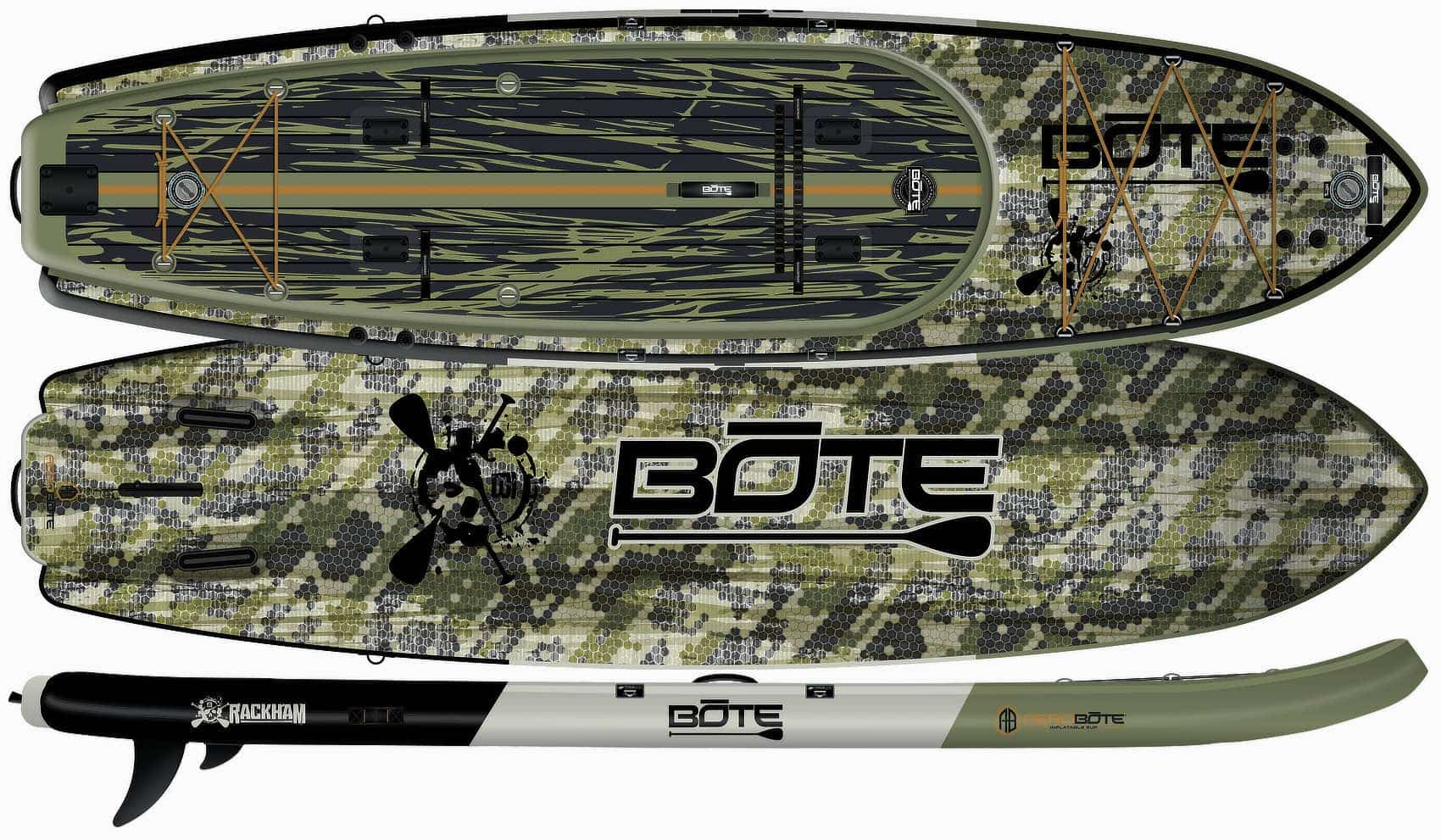 bote rackham version chasse hunting camouflé